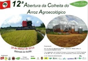 ATABRASIL e FENTEC participam da abertura da Colheita do Arroz Ecológico e inauguração da unidade de arroz orgânico